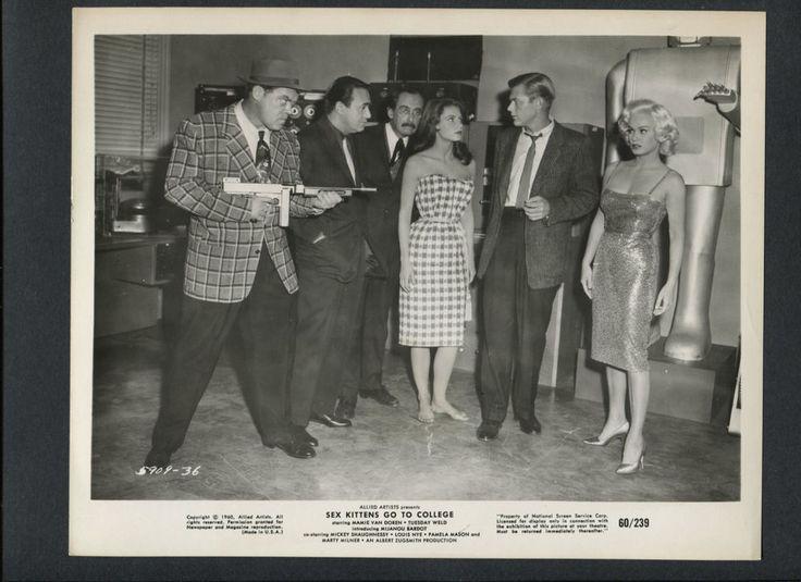 MAMIE VAN DOREN + A ROBOT + MARTIN MILNER - 1960 SEX KITTENS GO TO COLLEGE | Entertainment Memorabilia, Movie Memorabilia, Photographs | eBay!