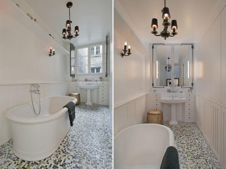 swivel mirrors to open to windows in bathroom     desire to inspire - desiretoinspire.net - JulieNabucet