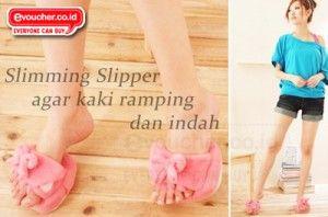 Sliming Slipper, Sandal Inovasi Dari Jepang Yang Membuat Kaki Ramping & Sexy Dengan Efek Akupuntur Hanya Rp.65,000 - www.evoucher.co.id #Promo #Diskon #Jual   klik > http://evoucher.co.id/deal/Sliming-Slipper  Sandal inovasi dari Jepang ini didesain khusus agar kamu memiliki kaki ramping dan sexy. Cukup pakai slimming slipper ini sambil beraktifitas di rumah agar kalori lebih banyak terbakar. Slimming sliper ini bekerja dengan menekan titik akupuntur di kakimu  pengiri