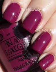 My lastest OPI nail colour