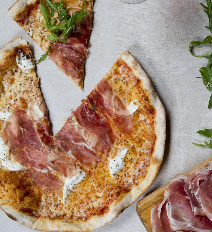 Rivoleton herkullinen pizza