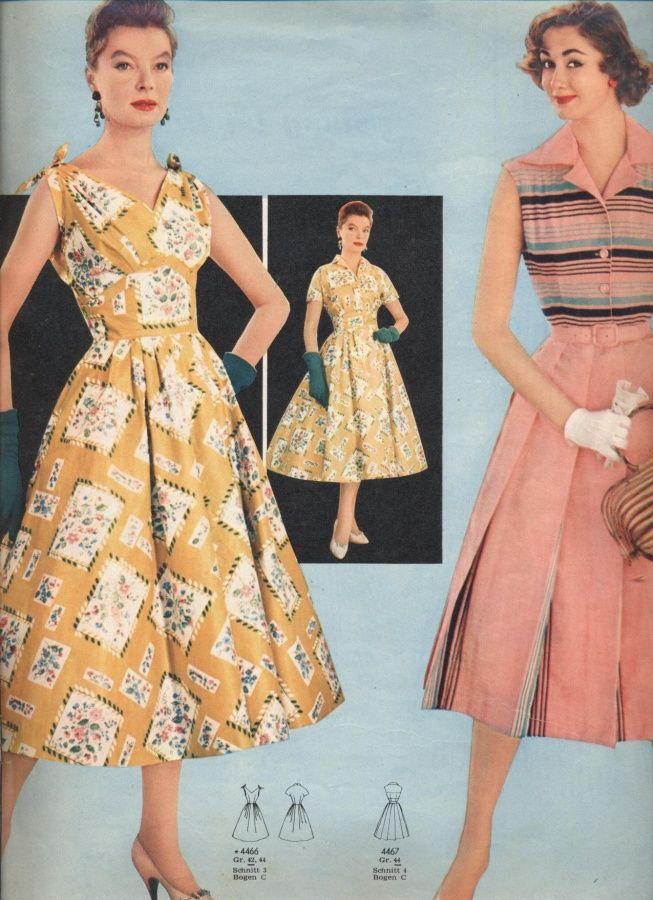 Платья 1957