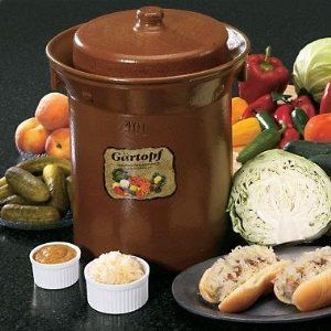sauerkraut crock - Google Search
