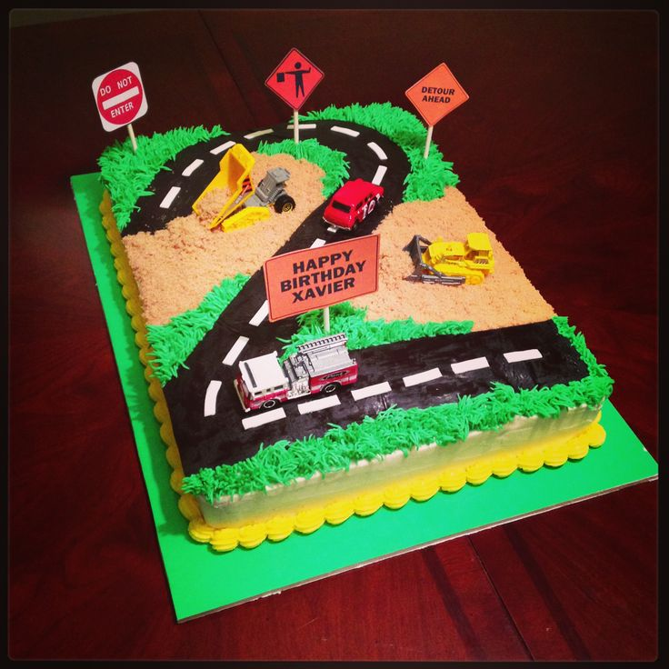 13 Best Images About Cakes Construction Theme On