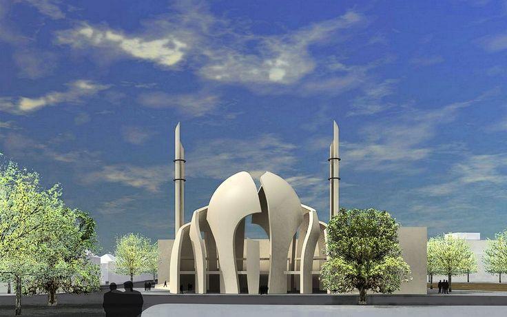 Cologne Central Mosque | Cologne Central Mosque, ARCHITEKTURBURO | Cologne Central Mosque,Germany | New German mosque a milestone in religio...