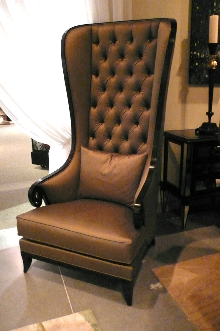 Long Back Leather Armchair Story All About Donyen