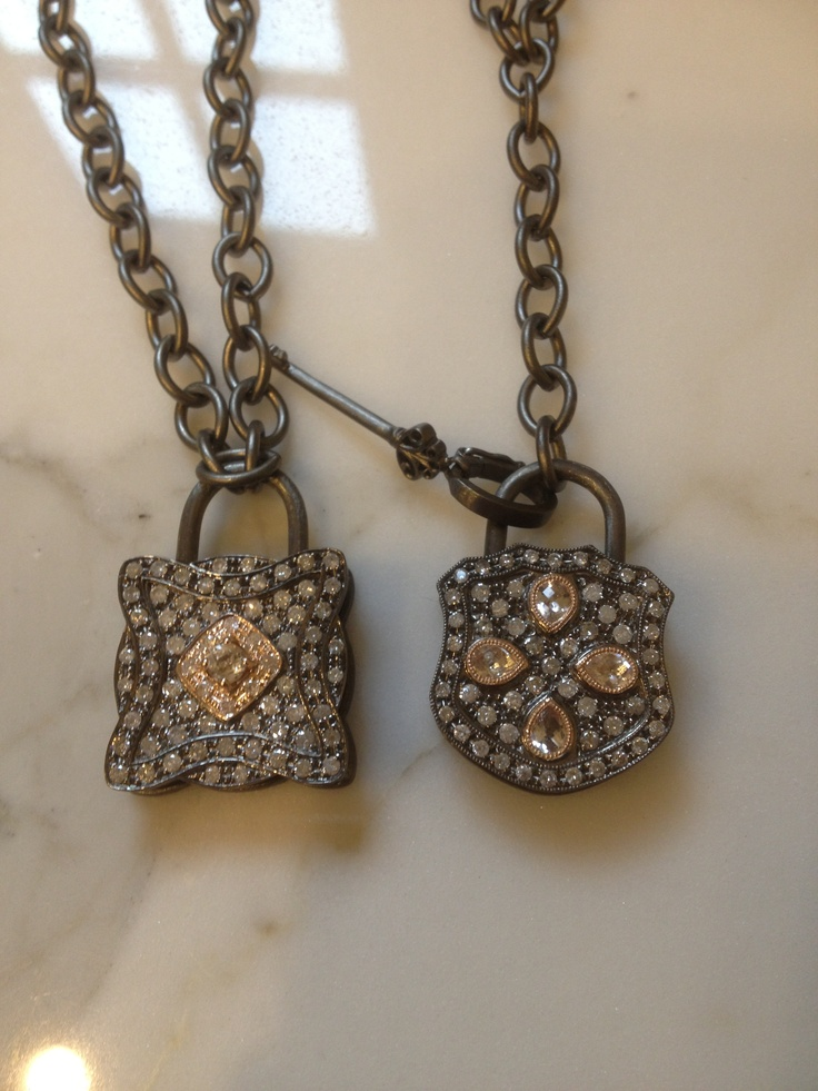 New locks diamonds and rosé gold By Andi Alyse Jewelry