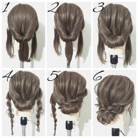 Einfache Frisuren mittellanges Haar #für #kurzeha…