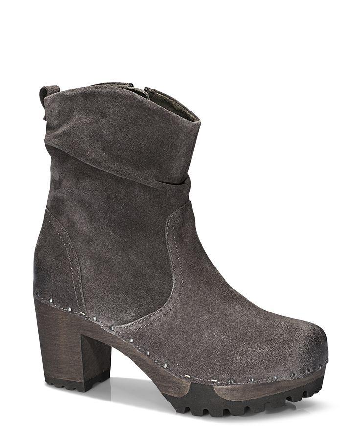 OPHELIA Bailey lava #softclox #soft #clogs #munich #muc #OPHELIABailey #lava #autumn #fall #shoes #fallshoes #veloursleather #woddensole