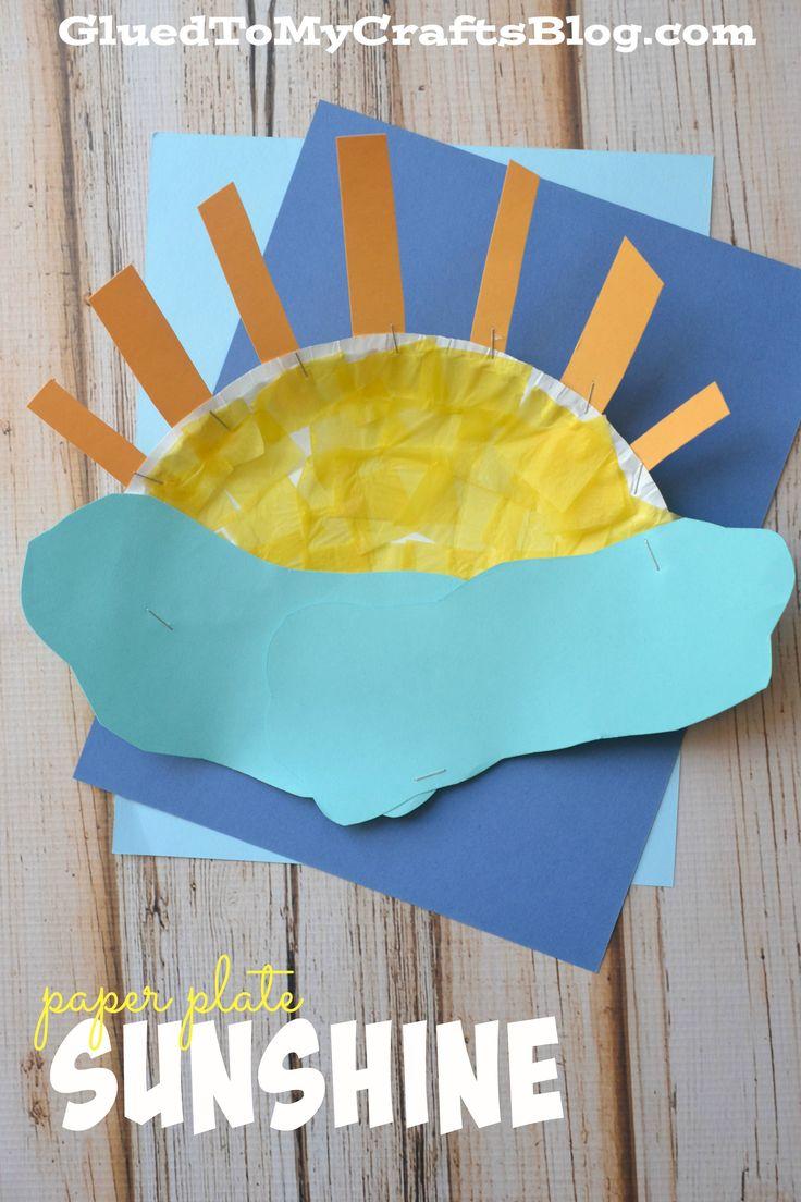 Paper Plate Sunshine {Kid Craft}