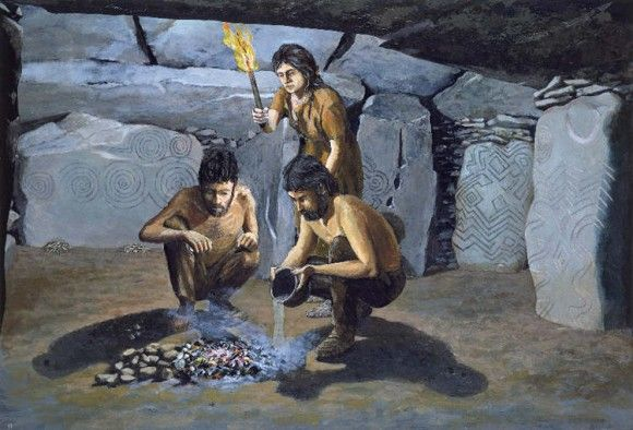 paleolithic age fire - photo #17