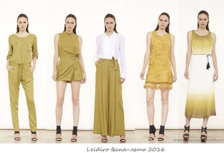 Мода весна-лето 2016 фото! Модные тенденции цвета, принты, цвет хаки
