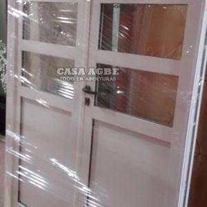 Puertas de aluminio, aberturas en aluminio, puertas dobles, portones de aluminio, medidas estandar y especiales. Calidad y precio. Compras On-Line