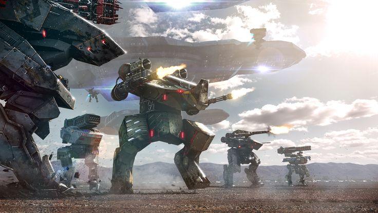 Walking War Robot Wallpapers High Quality Resolution On Wallpaper 1080p HD