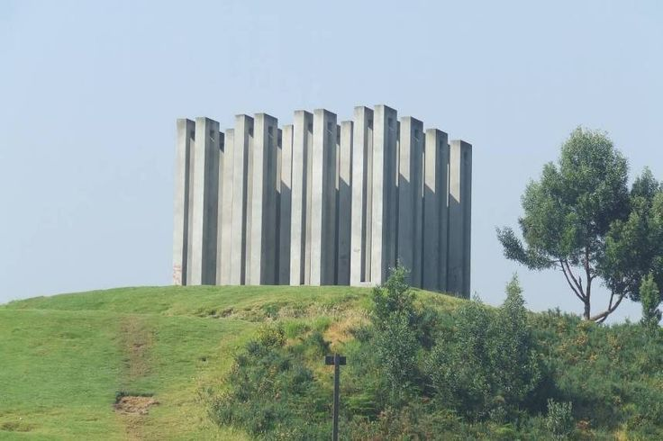 Las 16 torres de Ramírez Villamizar en el Parque Nacional de Bogotá