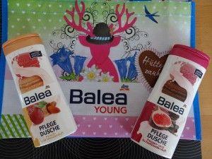 Balea Hüttenzauber Tasche, Balea Kirsch-Mandel Duschpflege, Balea Feige-Schokolade Duschpflege