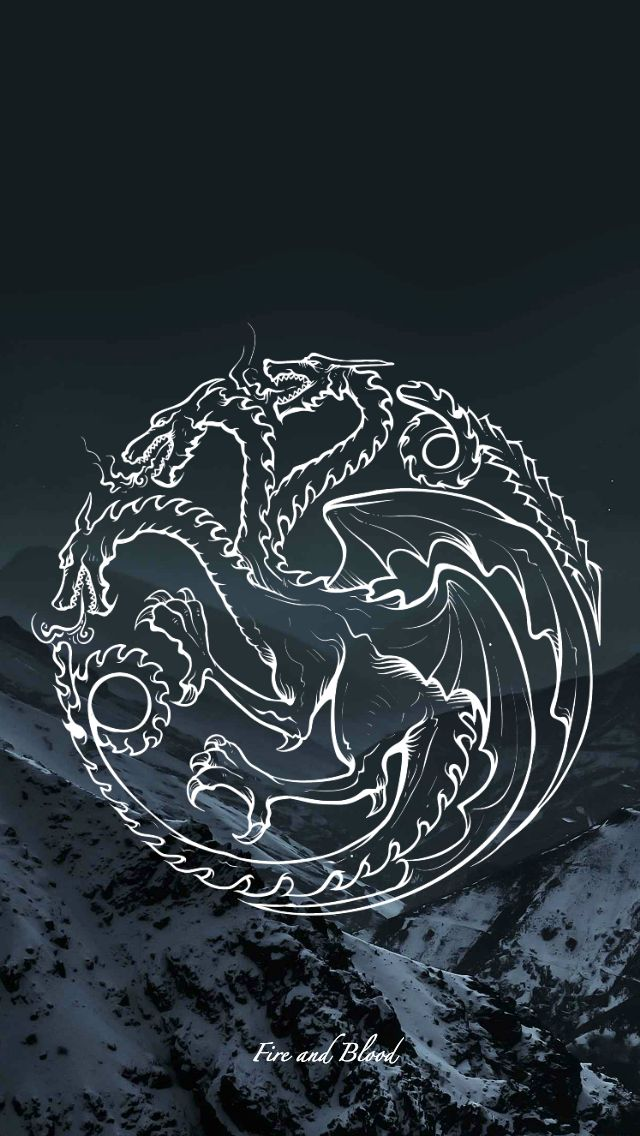 Game of Thrones - wallpaper - sigil - Targaryen by EmmiMania.deviantart.com on @DeviantArt