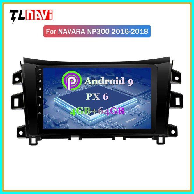 Hot Px6 4g64g 10 1 Inch Android 9 Ips Screen Car Multimedia System For Nissan Navara Np300 2016 2018 Car Gps Radio Navigation 2 Nissan Navara Car Gps Car Audio