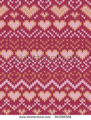 607 best Fair Isle images on Pinterest   Knitting stitches, Knit ...