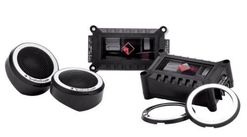 Rockford Fosgate Power T1T-S Tweeter Set by Rockford Fosgate. Save 62 Off!. $94.95. Amazon.com                Utilizing the tweeter from Rockford Fosgate's Power series component systems, this tweeter kit will enhance any car audio system by providing crystal clear highs. Its dedicated outboard crossover utilizes audiophile-grade components for transparent detail. This kit is perfect for anyone needing to add a set of dedicated tweeters to a fanatic sound system.                 The...