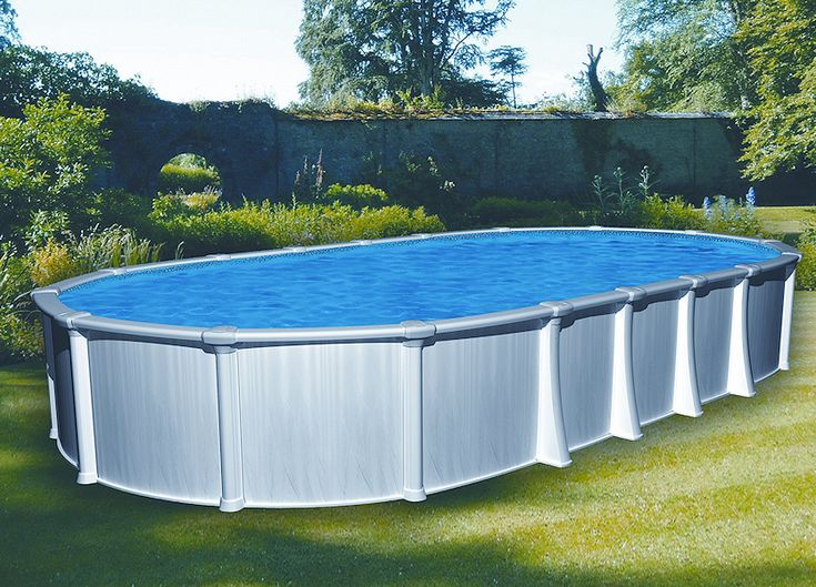 25 best ideas about oval above ground pools on pinterest oval pool swimming pool decks and for Largest above ground swimming pool