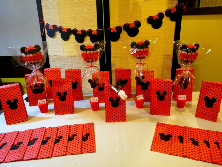Fiesta tematica cumple minnie y mickey ideas para - Fiesta tematica mickey mouse ...