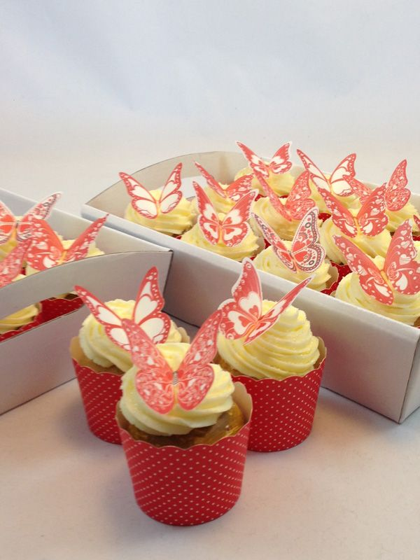 Valentine Heart Butterfly Cupcake Kit. Click here http://www.icingonthecakekits.com/item_117/Valentine-Heart-Butterfly-Cupcake-Kit.htm $39.95