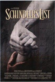 A Lista de Schindler (Schindler's List) - Poster / Capa / Cartaz