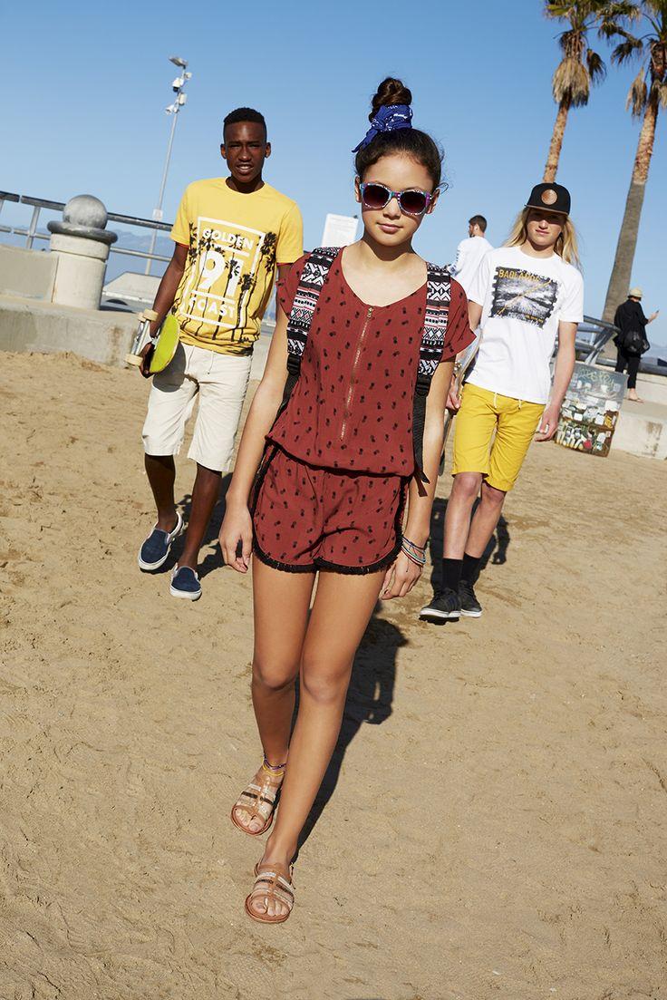 Summer is coming    #gemo #kids #enfant #modeenfant #fashionkids #ananas #mode #tendances #combishort #summer #look