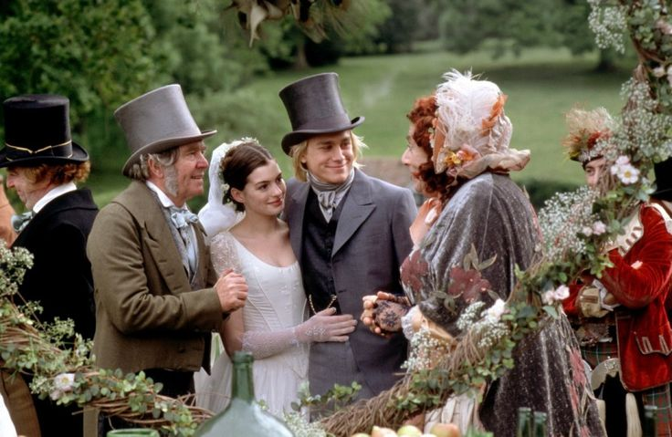 Nicholas Nickleby's wedding.
