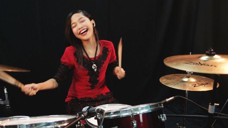 Slam - Tak Mungkin Berpaling - Drum Cover by Nur Amira Syahira