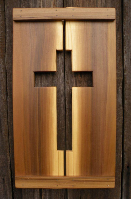 Cross Wall Decor. $25.00, via Etsy.