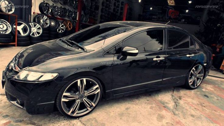 """Honda Civic 2009 com rodas   aro 20""""  foto 2"""