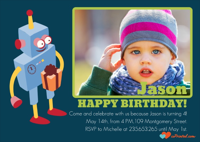 Printable Birthday Invitation. Customize online and download instantly. 3 USD/ month - unlimited downloads coprinted.com