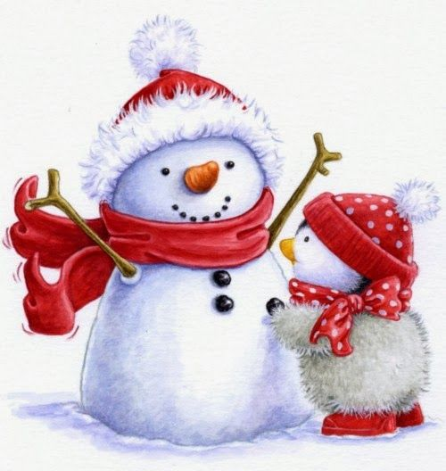 Pretty Snowman Images for your Chistmas Decorations.