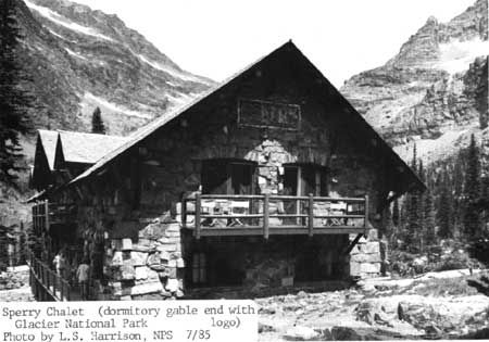 Sperry Chalet in Flathead County, Montana.