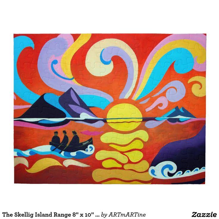 """The Skellig Island Range 8"""" x 10"""" Jigsaw Puzzle"""