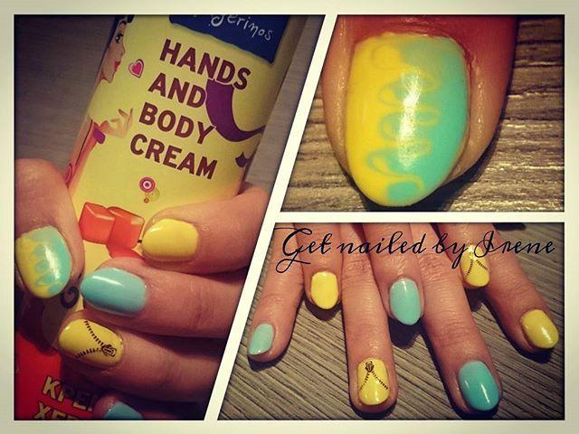 #banananails #summernails #mywork #ombre #zippers #nailart #instagramnails #getnailed 💅💄