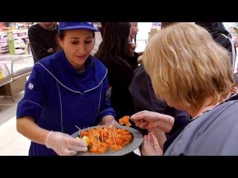 Carrefour Côté Coulisses : Poissonerie - YouTube