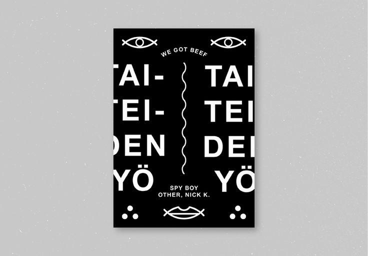 Various Posters 2011-2012 - Toni Halonen