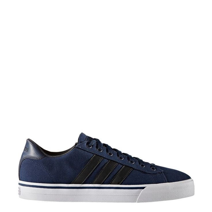 Adidas NEO Cloudfoam Super Daily Men's Shoes, Size: 11.5, Blue (Navy)
