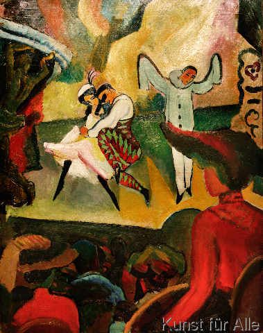 August Macke - August Macke, Russisches Ballett