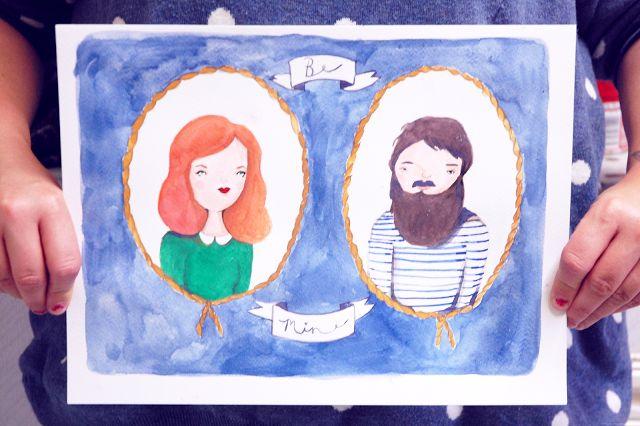 Ella | UK Lifestyle blog: Custom portraits.