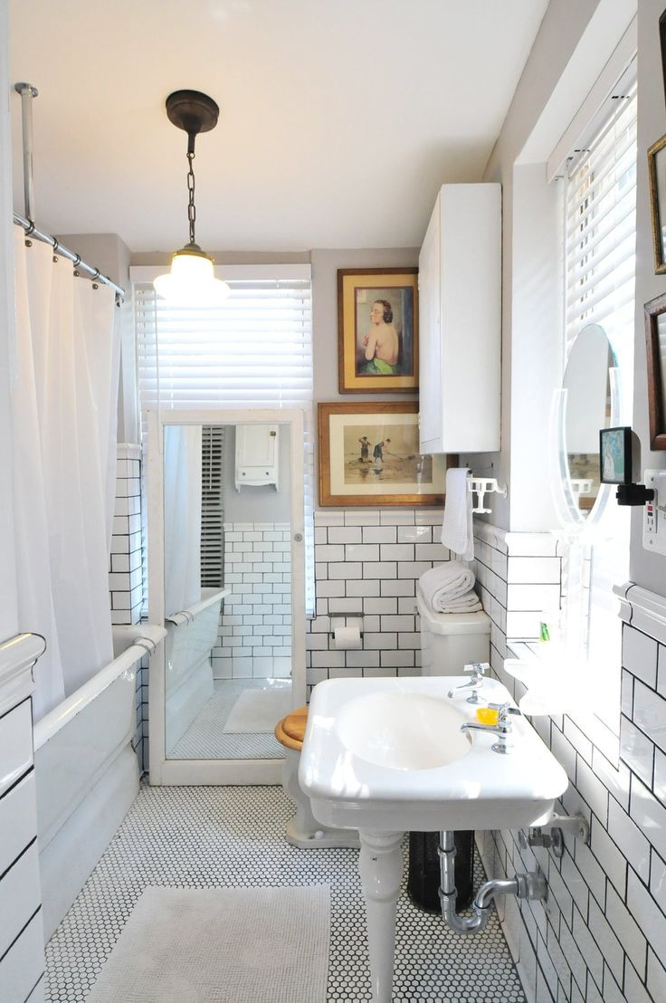 Apartment Therapy Bathrooms 17 Best Images About Bathrooms On Pinterest White Subway Tiles