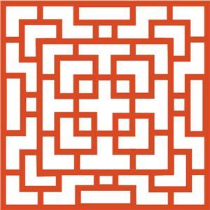 Silhouette Online Store: chinese lattice