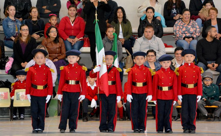 Realizan Muestra Regional de Escoltas de Bandera y Bandas de Guerra del nivel Preescolar