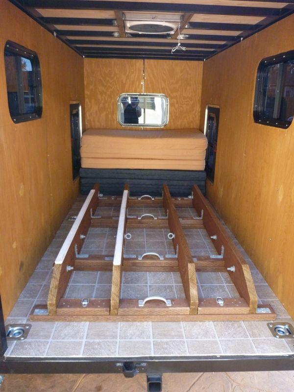5x10 Enclosed Cargo Trailer Aka El Burro Expedition