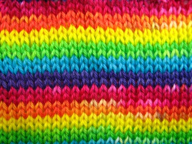 rainbow brite stripe self patterning sock yarn bamboo blend pre order knitting projects to. Black Bedroom Furniture Sets. Home Design Ideas
