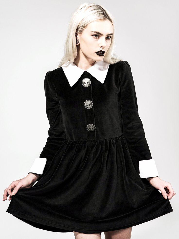 disturbia kleid rosemary valour dress schwarz s pastelgothforever pinterest dresses. Black Bedroom Furniture Sets. Home Design Ideas