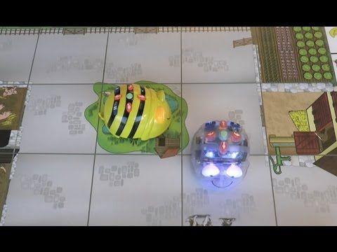 Au défi de la programmation en maternelle et en primaire avec Bee-Bot et Blue-Bot - YouTube